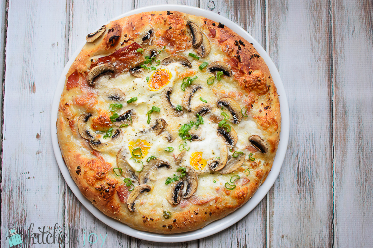 Breakfast Pizza - Kitchen Joy