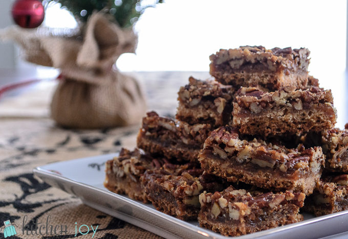 cooks illustrated baking book pecan bars