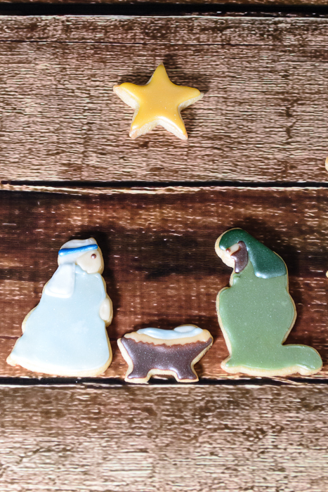Nativity Christmas Cookies