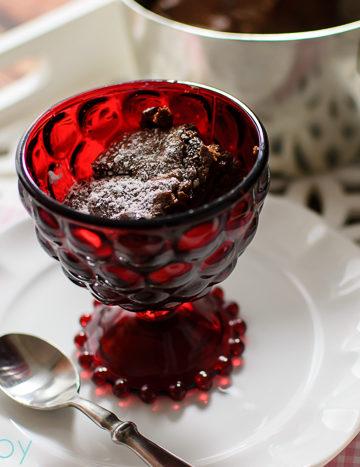 Julia Child Chocolate Souffle, Valentine's Day dessert