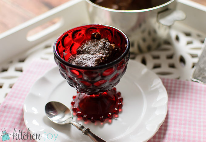 Julia Child Chocolate Souffle, Valentine's Day dessert