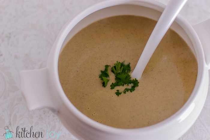 Cream Of Mushroom Soup Kitchen Joy