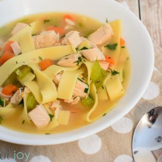 Homemade Turkey Noodle Soup, Homemade Turkey Stock,