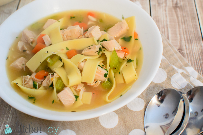 Homestyle Turkey Noodle Soup (7)
