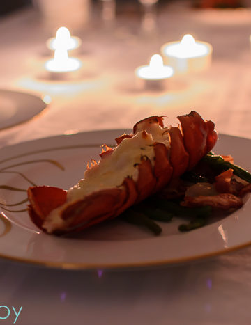 Downton Abbey dinner party menu recipe, cheesy filled lobster tails