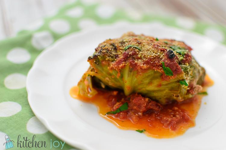 Cavolo Ripieno (Italian Stuffed Cabbage)