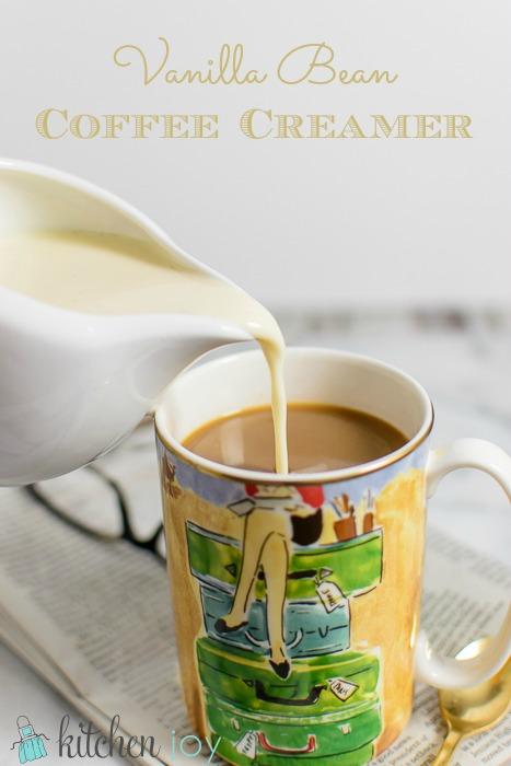 Vanilla Bean Coffee Creamer