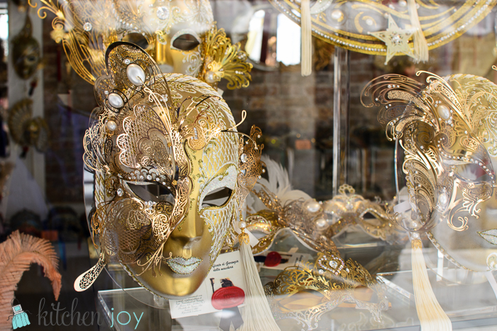 Carnivale masks -Venice, Italy ~ July 19, 2014