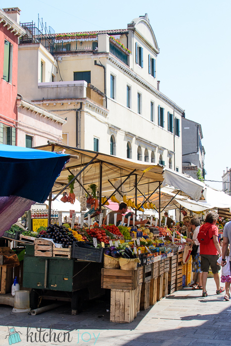 Fruit and Vegetable Stand - Venice, Italy ~ July 19, 2014