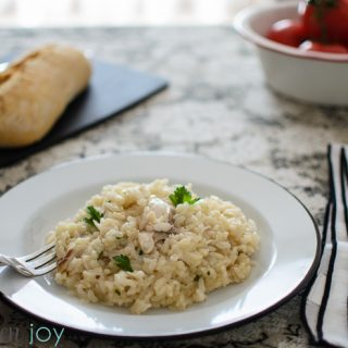 Risotto with Branzino - Kitchen Joy