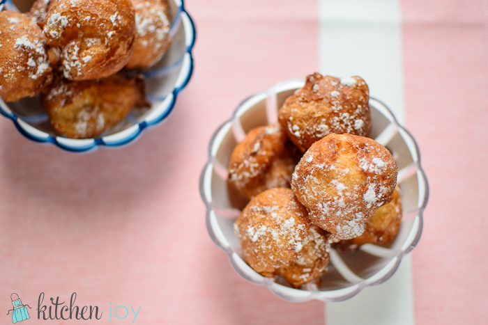 Zeppole - Kitchen Joy