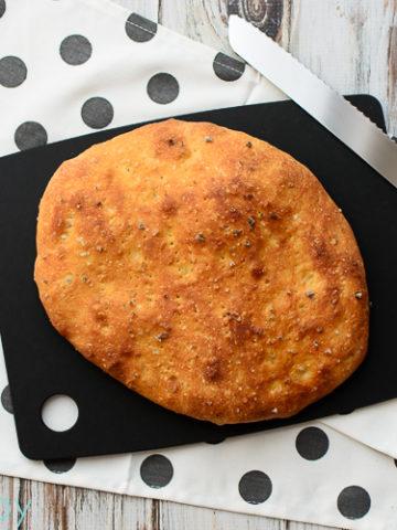 Homemade Focaccia - Kitchen Joy