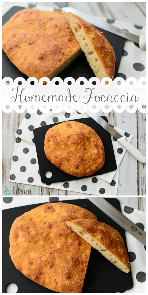 Homemade Focaccia - Kitchen Joy