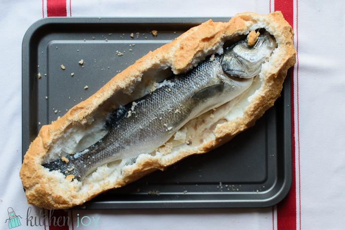 Whole Fish Baked in Salt Crust - Kitchen Joy