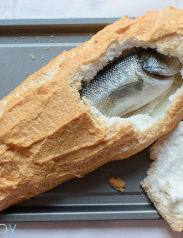 Whole Fish Baked in Salt Crust - Kitchen Joy