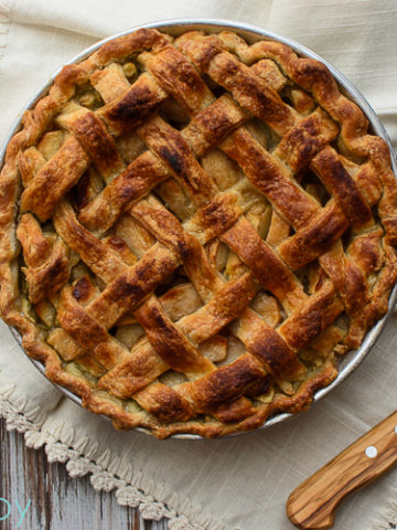 American Apple Pie - Kitchen Joy