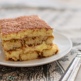 Authentic Italian Tiramisu - Kitchen Joy
