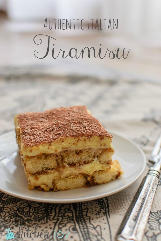 Authentic Italian Tiramisu - kitchen Joy