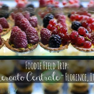 Foodie Field Trip: Mercato Centrale ~ Florence, Italy