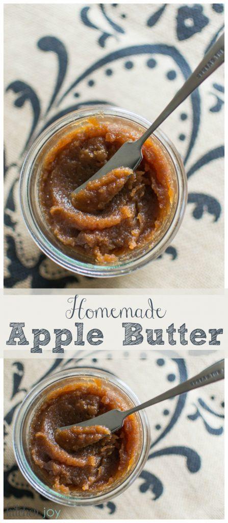 Apple Butter - Kitchen Joy