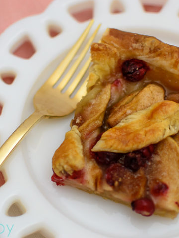 Cranberry Apple Slab Pie - Kitchen Joy