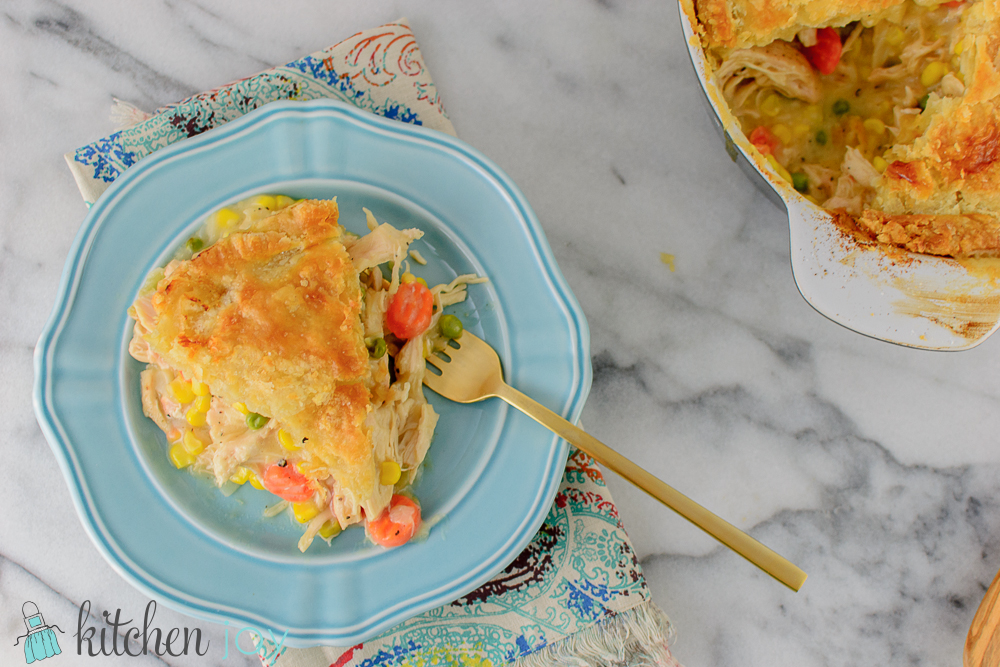 Homemade Chicken Pot Pie - Kitchen Joy