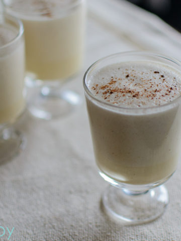 Homemade Holiday Eggnog - Kitchen Joy