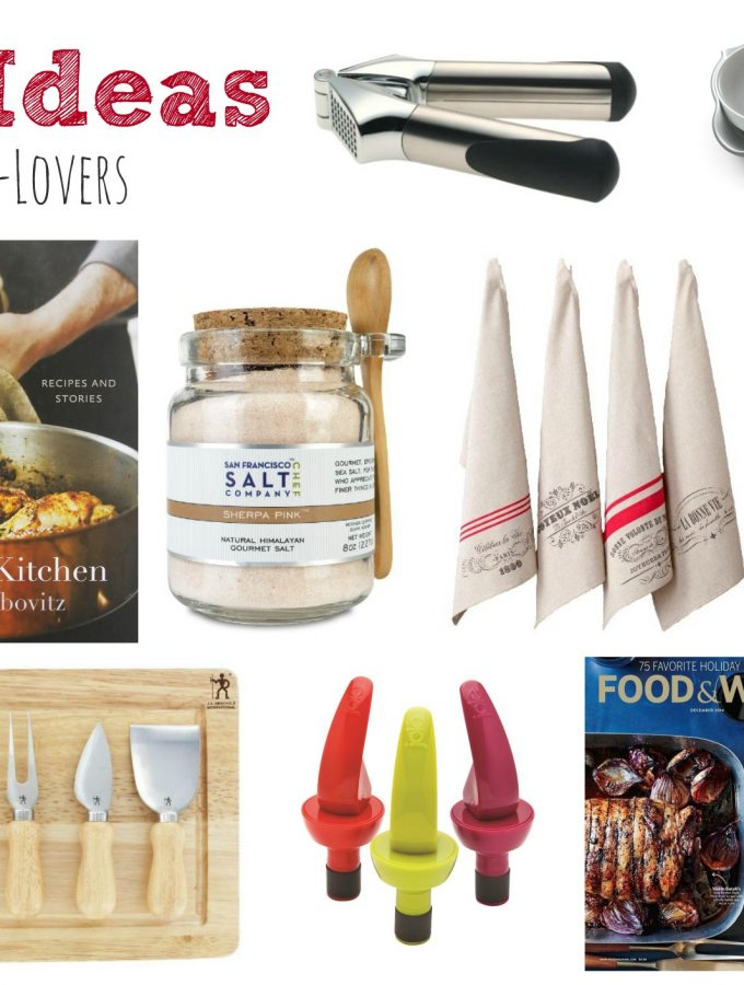 Gift Ideas for Food-Lovers - Kitchen Joy