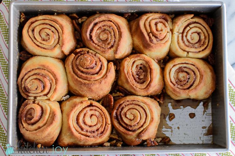 Pecan Sticky Buns - Kitchen Joy