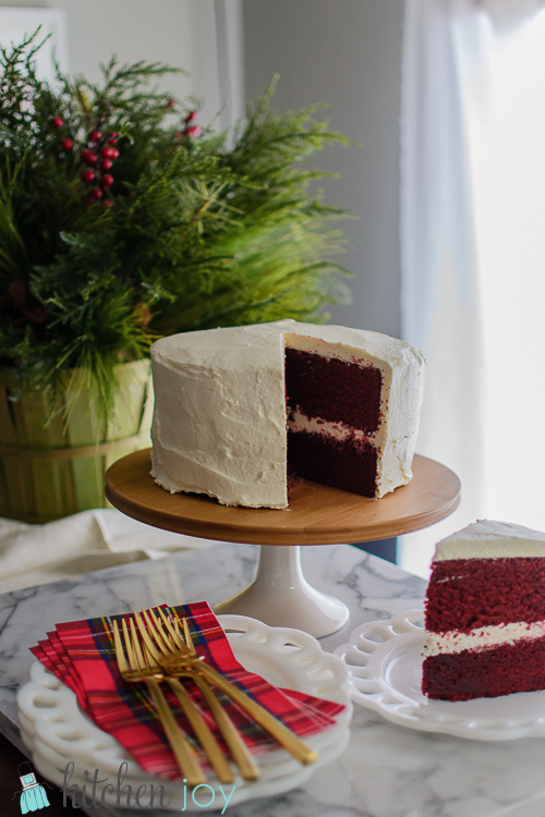 Red Velvet Cake -Kitchen Joy