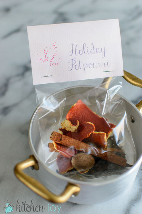 Holiday Stovetop Potpourri - Kitchen Joy