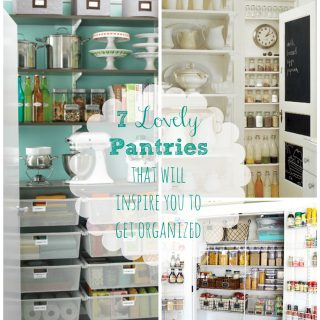 Friday Favorites - Pantry Organization Edition