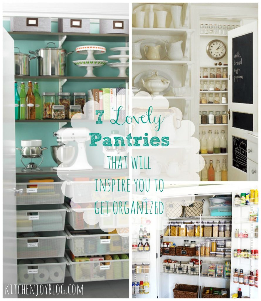 Friday Favorites - Pantry Organization Edition