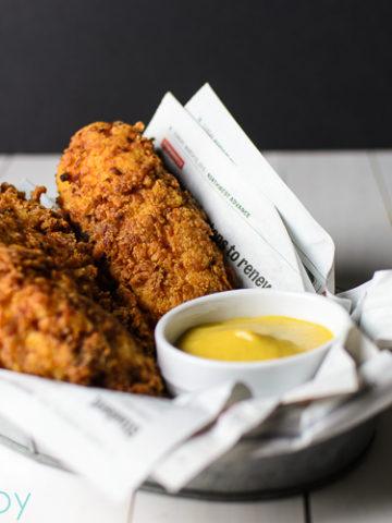 Buttermilk Chicken Strips - Kitchen Joy