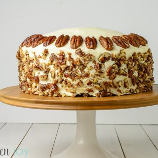 Carrot Cake - Kitchen Joy