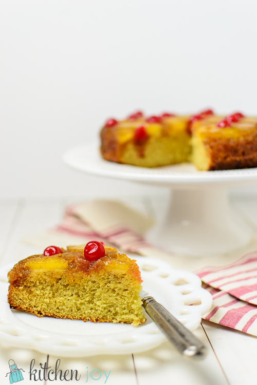 Pineapple Upside Down Cake | Kitchen Joy