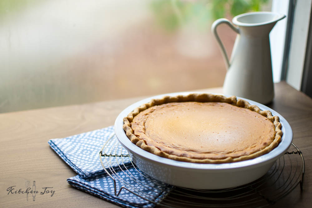 Sweet Potato Pie - Kitchen Joy®