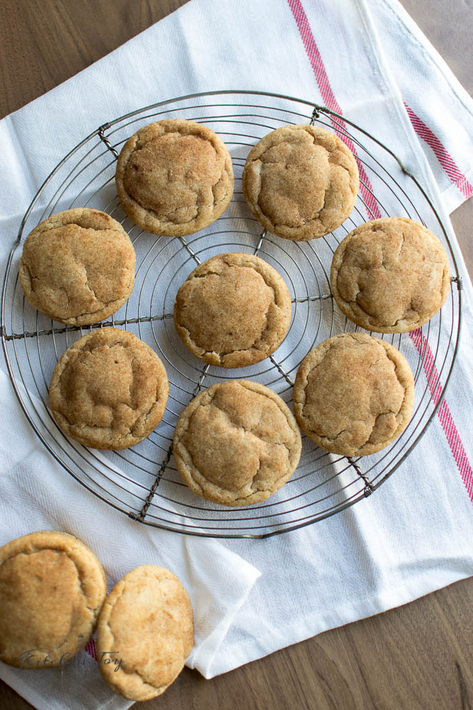 Perfectly Soft Snickerdoodles