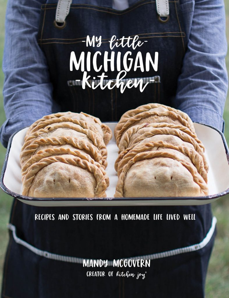 michigan cookbook, classic michigan recipes, my little michigan kitchen, homestyle recipes,
